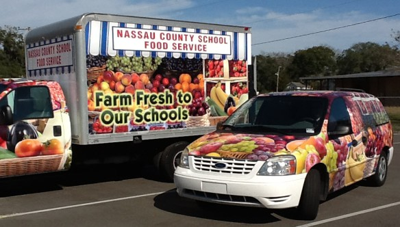 Nassau County (FL) Schools Feature Local Produce