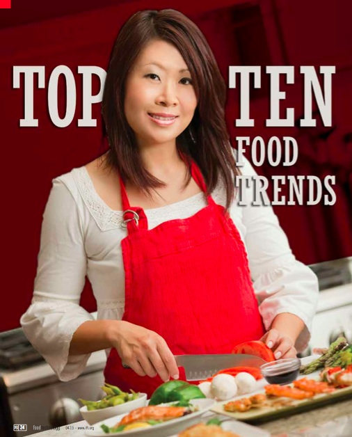 April 2013, Food Technology Top Tend Trends
