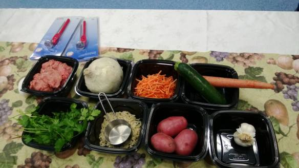 Denver (CO) Public Schools served Albondigas with zucchini, bell peppers, onions, potatoes, cilantro and carrots, as well as homemade turkey meatballs. Students at Schmitt Elementary raved about them on the playground and at other schools students asked for seconds!