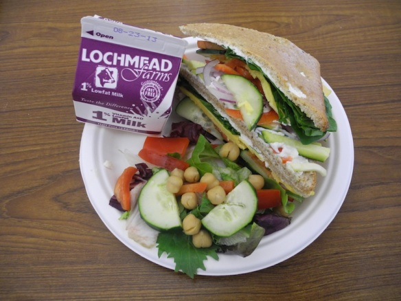 Bethel Nutrition Services Summer Meal Program Sandwich
