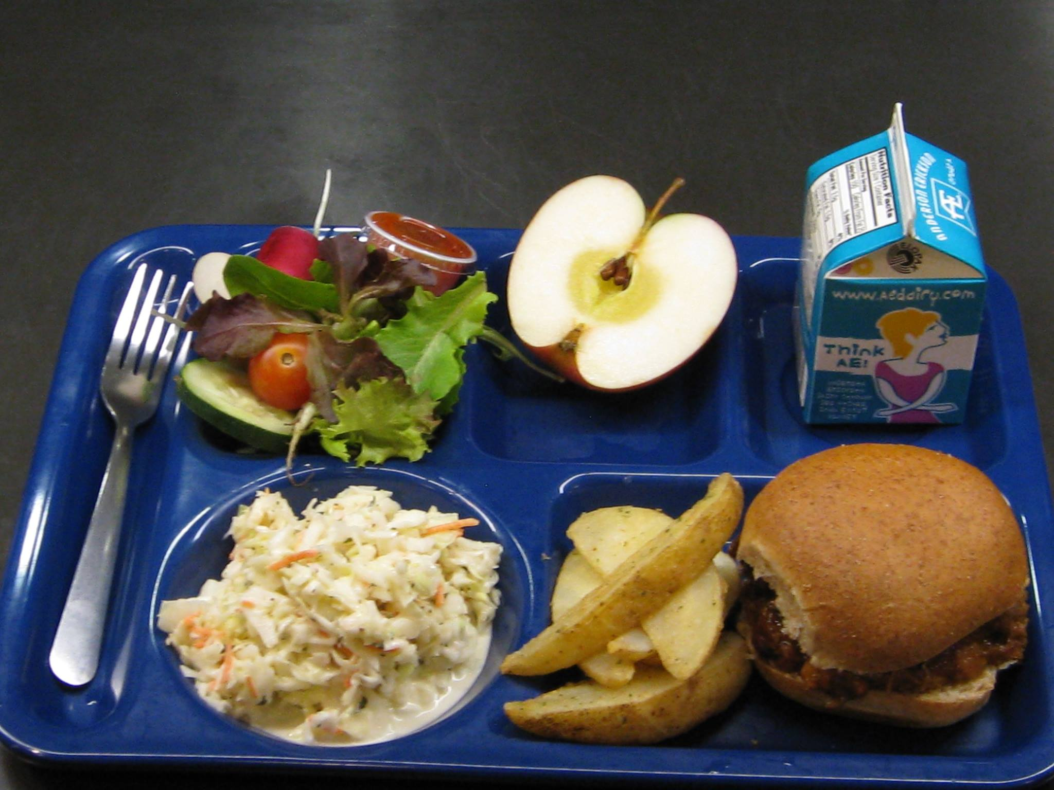 Kale chips for 8 000 and other real school food stories for Lunch food