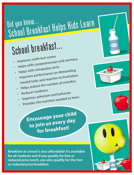 FRIST FUEL Promotes School Breakfast