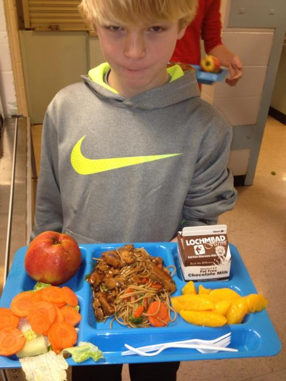 School Lunch, Bethel School District, Eugene, OR