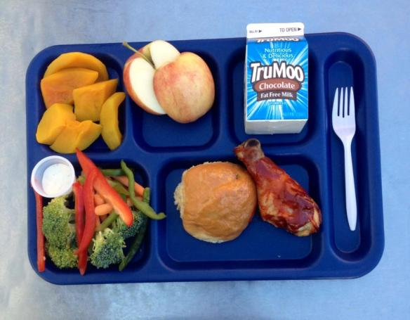 2014 Farm to School Lunch in Jefferson County Public Schools (KY)
