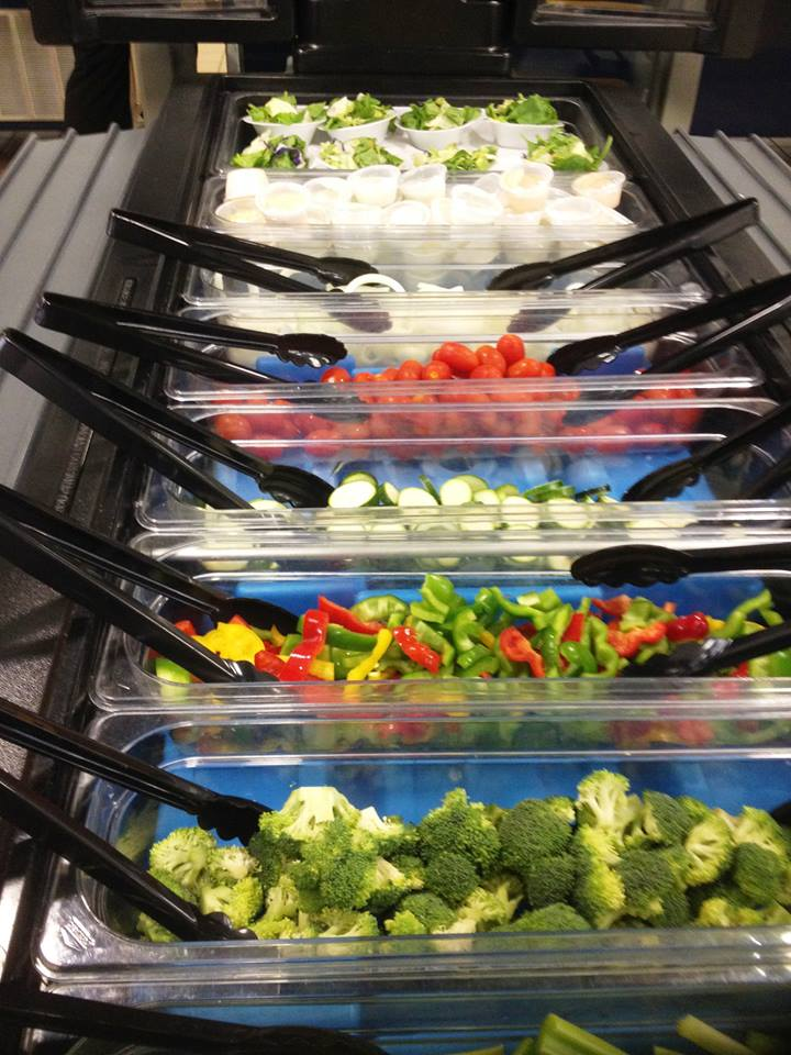 Carrollton Middle School Salad Bar City Schools Georgia