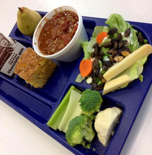 Local Oregon Lunch at Marabon Elementary, Bethel School District, Eugene, Oregon
