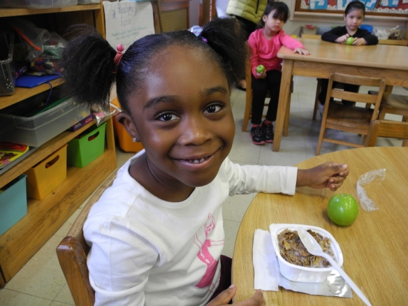 Breakfast in the Classroom, Goddard Elementary Worcester, Massachusetts