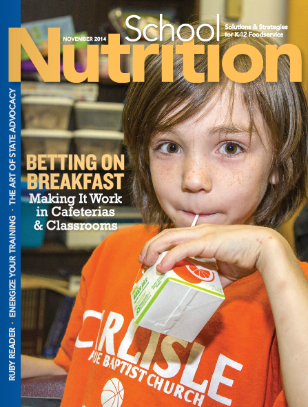 Rise and Shine with School Breakfast article begins on page 72