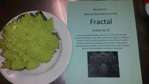 Romanesco, Parkside Elementary, Grants Pass, Orgeon