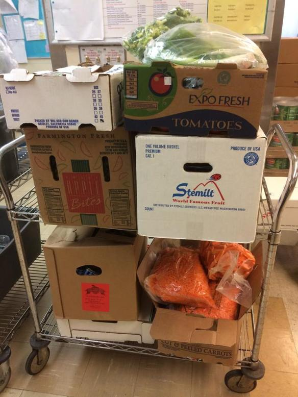 Produce Donations from San Diego School District