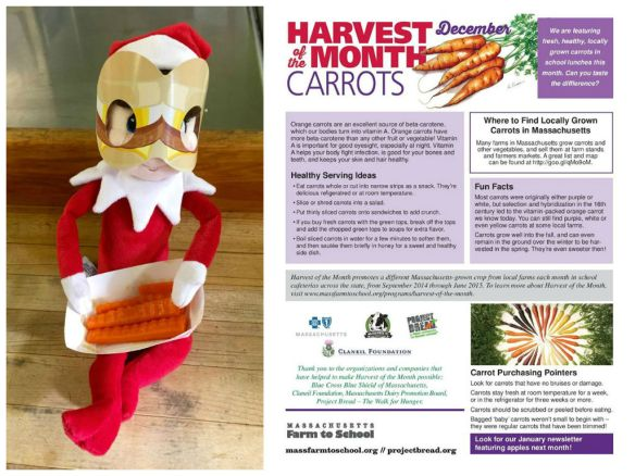 Elves love Harvest of the Mouth Roasted Carrot Fries in Billerica, Massachusetts