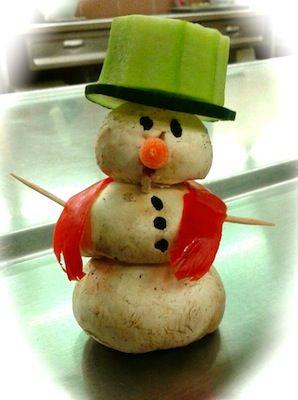 Mushroom Snowman, Dixon Middle School, Provo, Utah