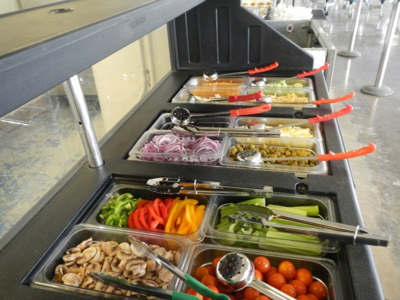 New Orleans High School Salad Bar, 2014