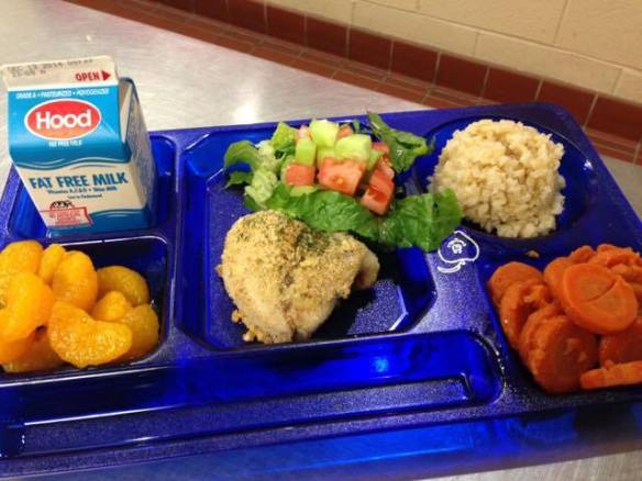 Fresh Acadian Redfish Lunch, Mast way Elementary, Lee, NH