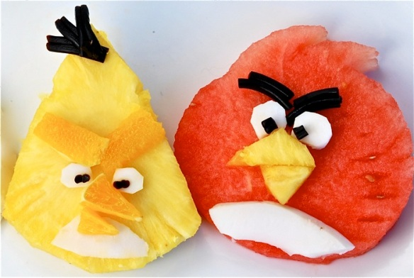 Pineapple-Watermelon Angry Birds