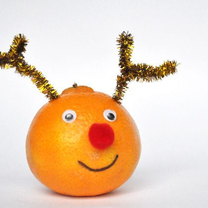 Rudolf the Red-Nosed Orange