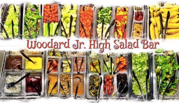 Salad Bar, Woodard Jr. High, Yuma, Arizona
