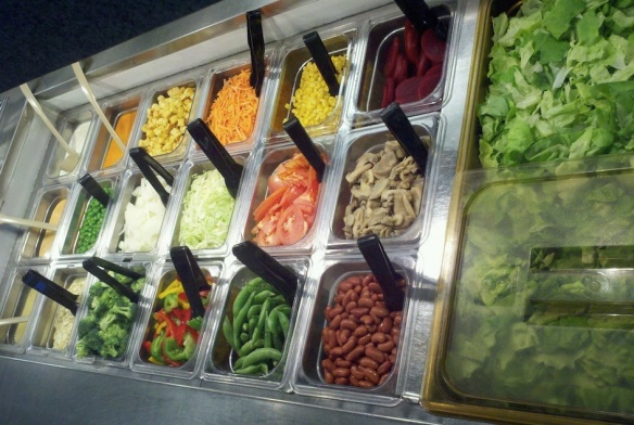 Harrisonburg (VA) High School Salad Bar
