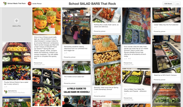 School Meals That Rock PINTEREST, School SALAD BARS That Rock (12-2014)