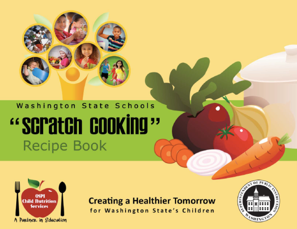 WA ChildNutritionRecipeBook Cover