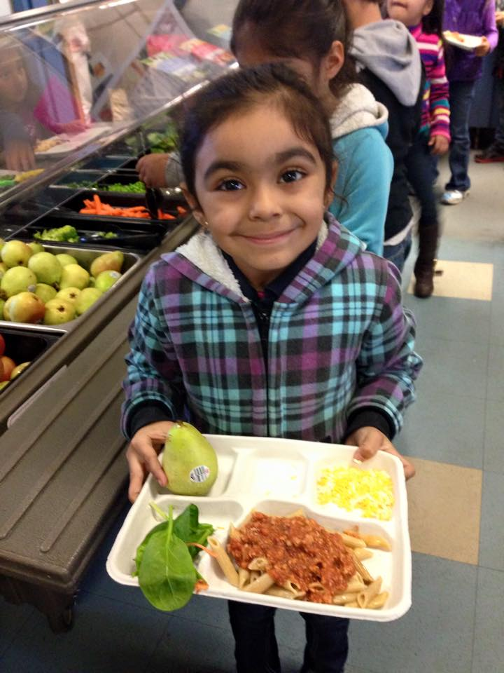 Oakland Unified School District, Nutrition Services participates in  CALIFORNIA THURSDAYS™ Day, along with