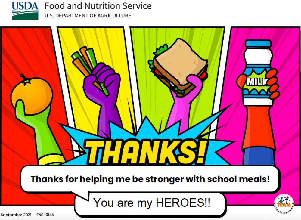 School Meals That Rock
